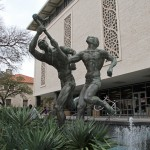 The Torchbearers - by Charles Umlauf