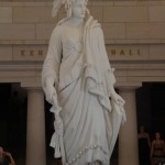 US Capitol Bldg. - The Statue of Freedom, by Thomas Crawford]