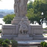 Monument to Swedish-American inventor John Ericsson