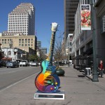 GuitarTown Austin Public Art project
