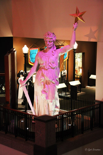 Goddess of Liberty - original statue