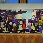Knowledge and Wonder [1995] - Kerry James Marshall / Legler Branch Library