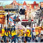 "Mural '""Forces of Pullman Labor"" - by Bernard William"