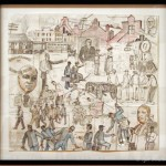 "Study Mural '""Forces of Pullman Labor"" - by Bernard William"