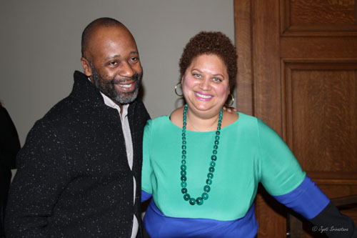Keynote Speaker Theaster Gates with Michelle T. Boone Commissioner of the City of Chicago's DCASE