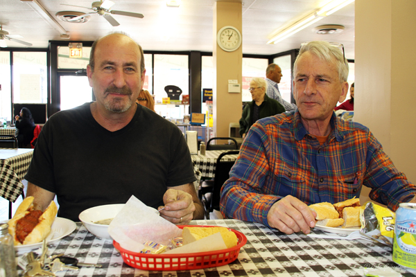 Lunch with Neil Goodman and Steve Mueller