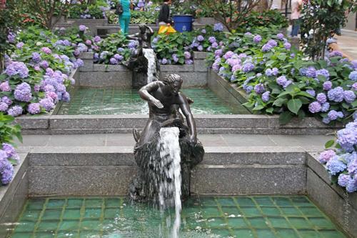 Channel Gardens Fountainheads By Rene Paul Chambellan
