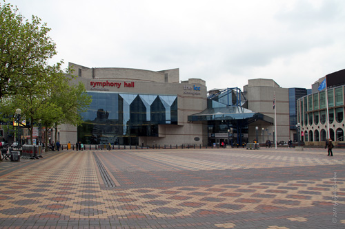 Centenary Square with International Convention Center and Symphony Hall