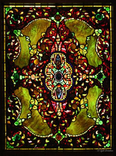 Geometric Window / 1890