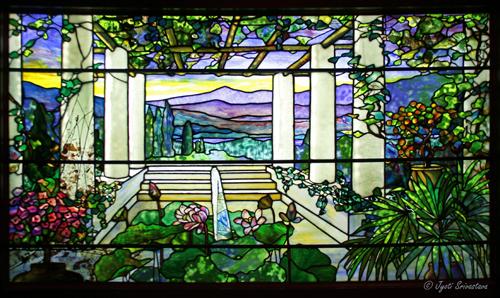 Garden Landscape Window  /1900-1910