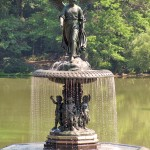 Bethesda Fountain / Angel of the Waters - by Emma Stebbins