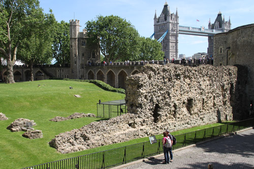Tower of London - Wall of the innermost ward