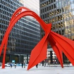 Flamingo - by Alexander Calder / General Services Administration 's  AIA program