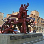 Haymarket Memorial - by Mary Brogger / City of Chicago Public Art Program - Special Project