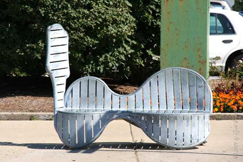 Bronzeville Benches