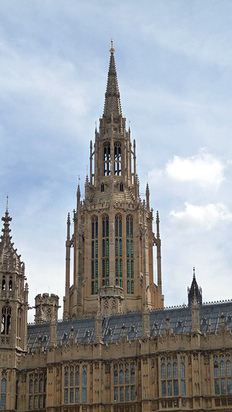 Central Tower / Palace of Westminster