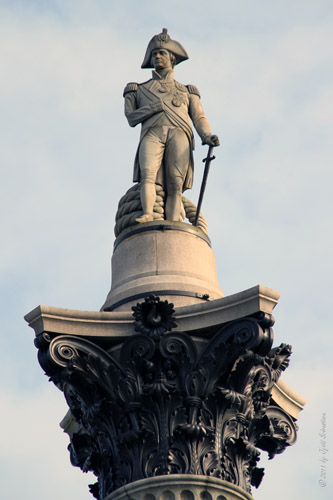 Admiral Horatio Nelson -  by Edward Hodges Baily