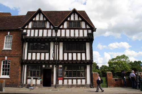 Nash's House, in Chapel Street - home of Shakespeare's granddaughter Elizabeth who married Thomas Nash.