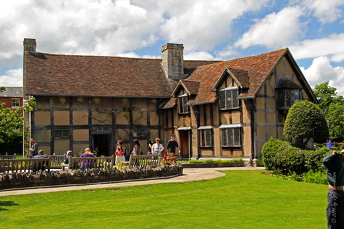 Shakespeare's Birthplace, Henley Street, Stratford-upon-Avon