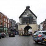 Bridgnorth Town, Shropshire, England