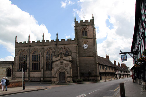 Guild Chapel - Stratford-upon-Avon