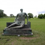 Draped Seated Woman - by Henry Moore