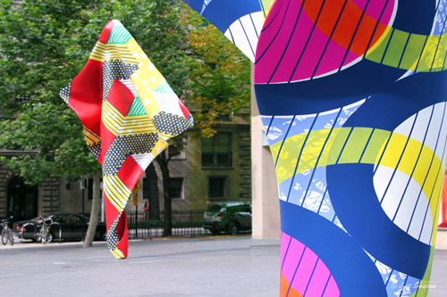 Wind Sculptures V  and IV - by Yinka Shonibare