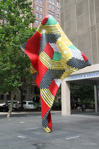 Wind Sculpture: V - by Yinka Shonibare