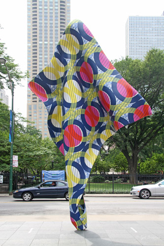 Wind Sculpture: IV - by Yinka Shonibare