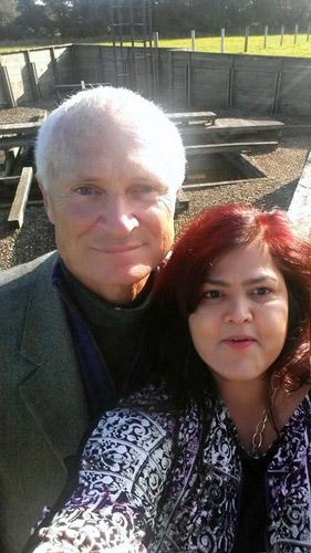 Selfie with Geoffrey Bates