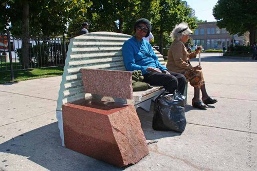 A Throne for 'King'  by - Barry Hehemann  /  The King Drive Gateway Project