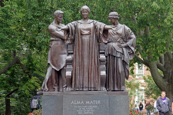 Alma Mater - by Lorado Taft