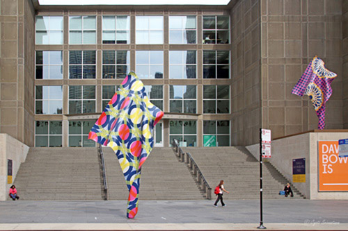 Wind Sculptures – by Yinka Shonibare