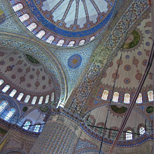 Sultanahmet a.k.a. Blue Mosque, Istanbul / Image courtesy Rolf Achilles