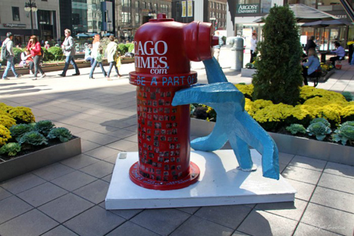 2013:  The Great Chicago Fire Hydrants