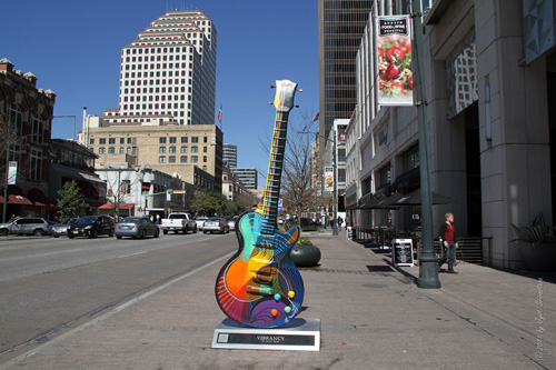 Austin Guitar Town Public Art Project /2006-07