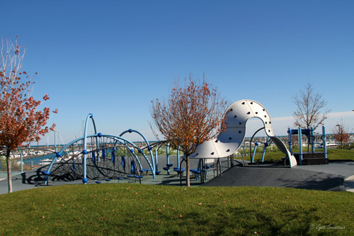 Playground at 31st Street Harbor