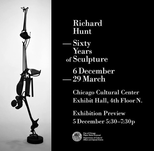 Richard Hunt: Sixty Years of Sculpture