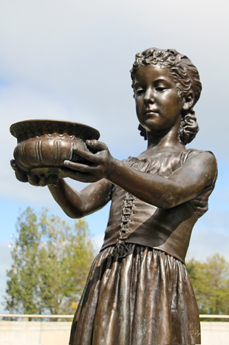 Fountain Girl - by George Wade