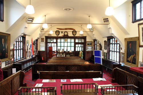 Bridgnorth Town Hall - courtroom