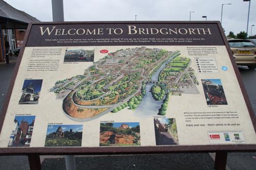 Bridgnorth, shropshire, England.