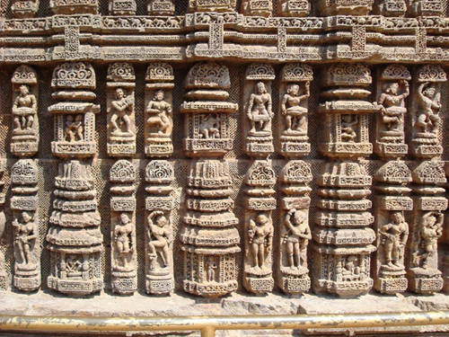 Konark Sun Temple - Natmandir / Dance Hall