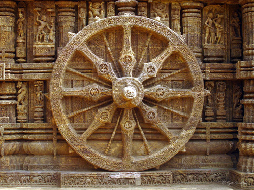 Konark Sun Temple - Wheels