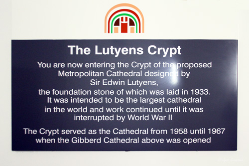 The Lutyens Crypt