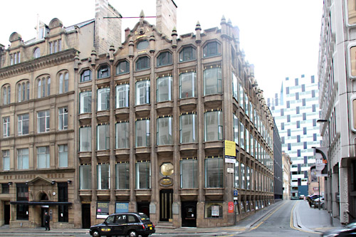 Oriel Chambers [grade I listed building], Liverpool.