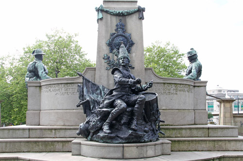 Kings Regiment [1905] -  by Sir W. Goscombe John