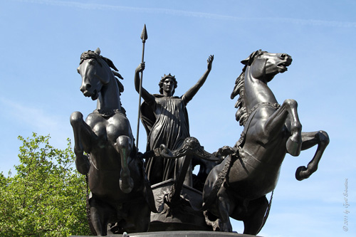 Boudicca Monument on Embankment - Buffer Zone for WHS