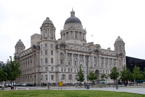 Port of Liverpool Building [grade II listed building], Liverpool.