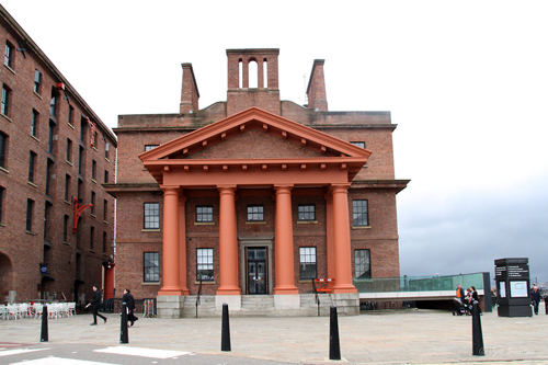 Albert Dock Traffic office [grade I listed building], Liverpool.