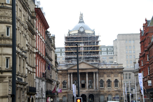 Liverpool Town Hall [Grade I listed building], Liverpool.